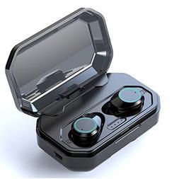 TiKa Wireless Earbuds, Bluetooth 5.0 Waterproof 3D Stereo M1