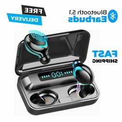 Wireless Earbuds Deep Bass Bluetooth Earphones In Ear Black