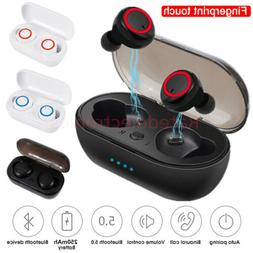 Wireless Earbuds Bluetooth 5.0 Noise Cancelling Headphones W