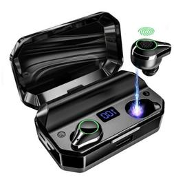 Wireless Earbuds Bluetooth 5.0 with 8000mAh Charging Case LE