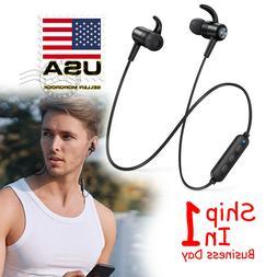 Bluetooth Headphones TaoTronics Wireless Earbuds Sport Snug