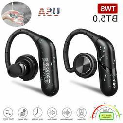 Wireless Earbuds BT5.0 Ear Hook Headphone Sport Business Ear
