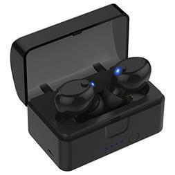 Wireless Earbuds, Cshidworld Bluetooth 5.0 Headphones Noise