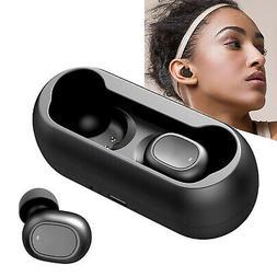 Wireless Earbuds In-Ear Stereo Earphones Sport Headset Headp