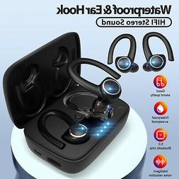 Wireless Earbuds Sport Bluetooth Earphones Handsfree Deep Ba