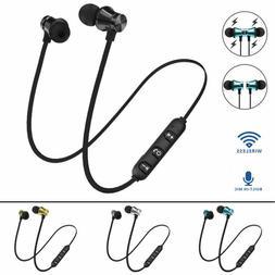 Wireless Earbuds Sport In-Ear Bluetooth Earphones Stereo HD