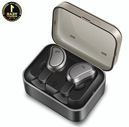 True Wireless Earbuds Ecoker Stereo Bluetooth 4.2 Headphones