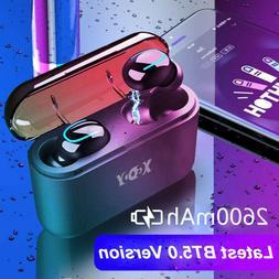 Wireless Earbuds TWS Mini True Bluetooth 5.0 Stereo Earphone
