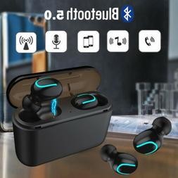 Wireless Earbuds TWS Mini True Bluetooth Stereo Earphone Bas