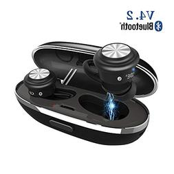 Wireless Earbuds, TWS Touch Control Mini Bluetooth Headphone
