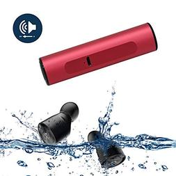 True Wireless Earbuds Volume Control Wireless Headphones 5H