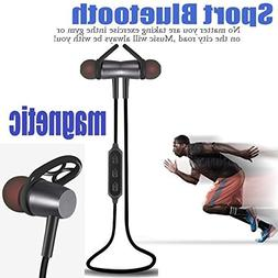 Wireless Sport Bluetooth Earphone 4.1 Magnetic Design Stereo
