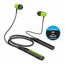 Jarv Wireless Earphones, Wave-Flex Sweatproof Neckband Bluet