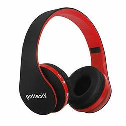 Wireless Foldable Headphones Bluetooth Over-Ear Stereo Earbu