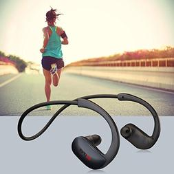 KUUFER Wireless Headphones, Bluetooth Earbuds Stereo,Noise C