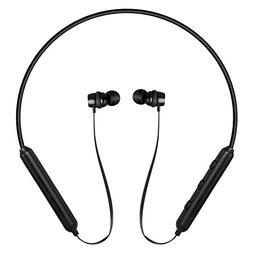 JIFFY Best Wireless Headphones Neckband Sport Earphones with