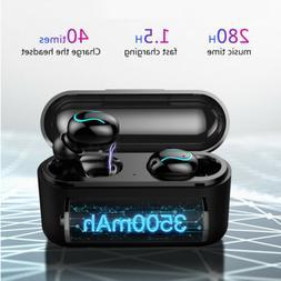 Wireless Headset Bluetooth 5.0 TWS Earphones Mini In-Ear Ear