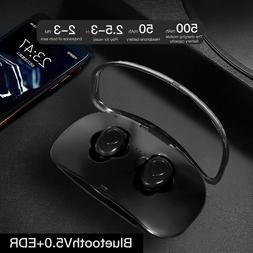 wireless headsets bluetooth headphone earbuds w mic