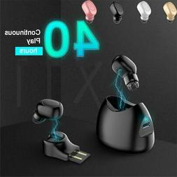 Wireless Mini True Bluetooth 4.1 Earbuds Stereo Earphone In-