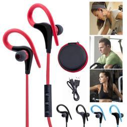 Wireless Sports Stereo Sweatproof Bluetooth Earphone Headpho