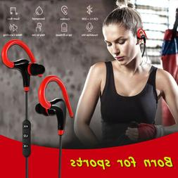 Wireless  Stereo Earbuds Earphone Sport Handsfree Universal