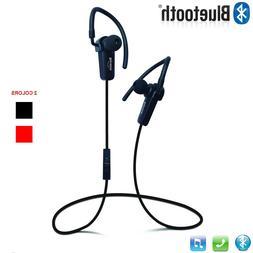 Wireless Stereo Sports Sweatproof Bluetooth Earphone Headpho
