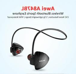 wireless sweatproof neckband earphone ear hooks style