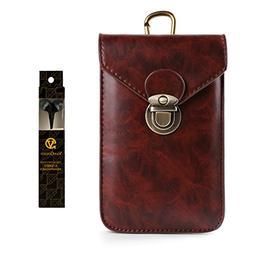 Fashion Cellphone Case Belt Clip Holster Waist Bag for Lg X