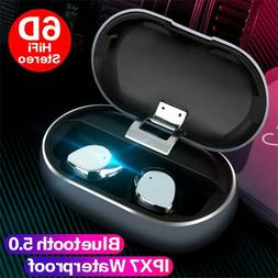 X26 TWS Bluetooth 5.0 Wireless Earbuds Smart Waterproof Ster