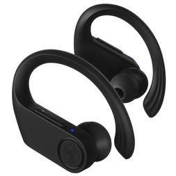 Treblab X3 Pro -True Wireless Earbuds with Earhooks-45H Batt