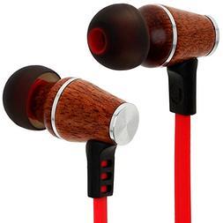 Symphonized XTC Bluetooth Wireless Wood In-ear Noise-isolati