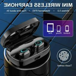 True Wireless Bluetooth 5.0 Earbuds Touch Control Headset HI